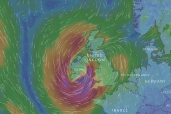 Uraganul Ophelia se îndreaptă spre Europa. Unde va lovi furtuna tropicală