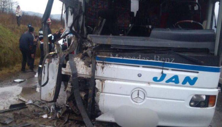 accident autocar maramures