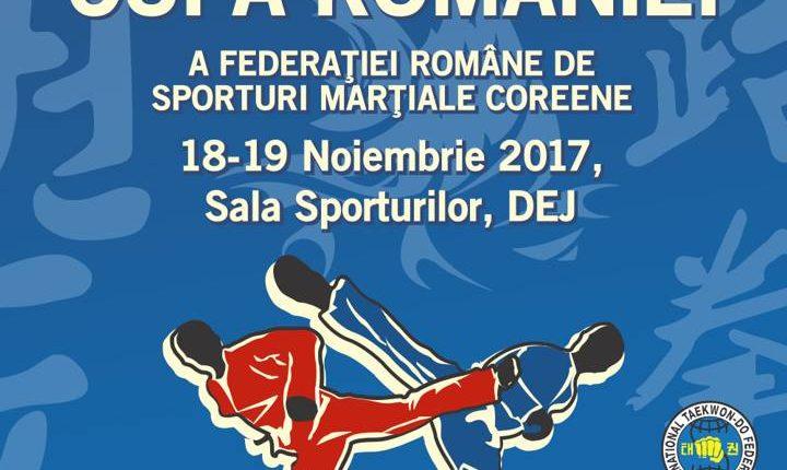 afis cupa romaniei sporturi martiale