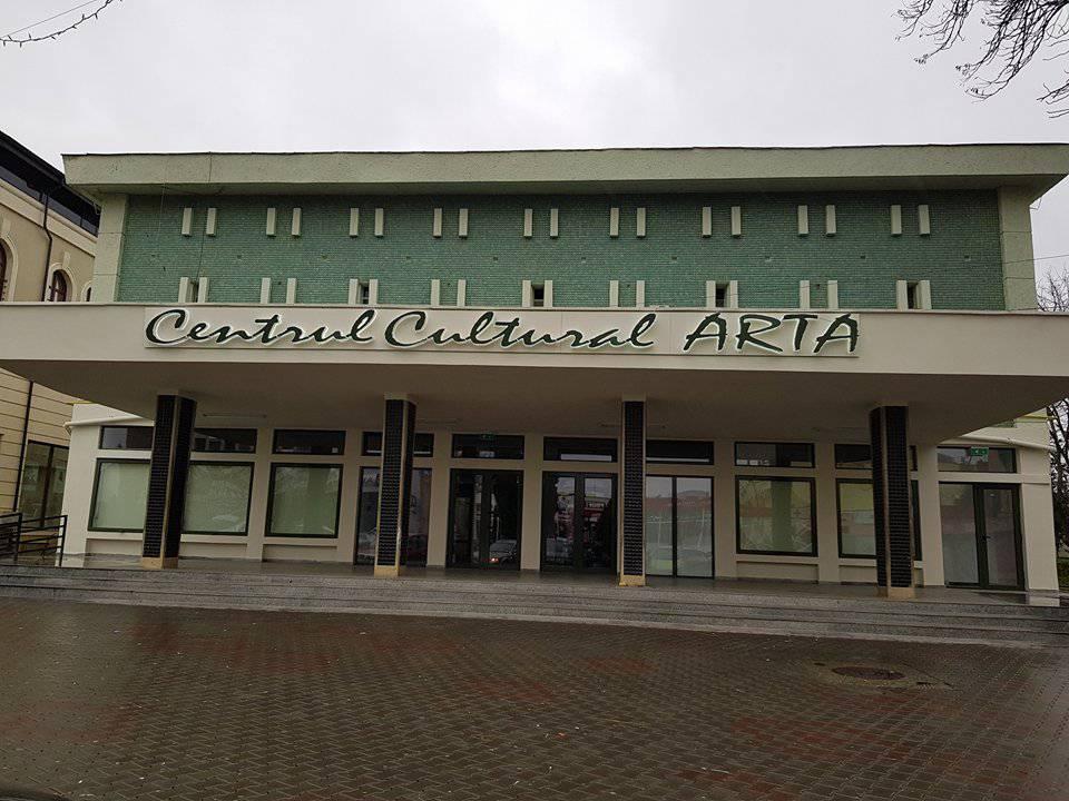 centrul cultural arta dej