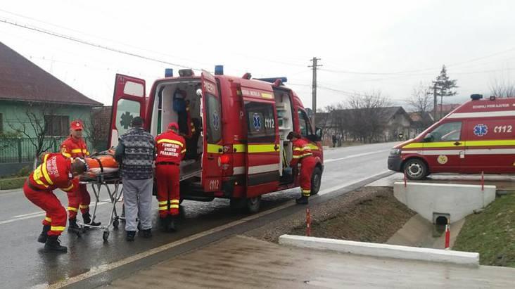 incendiu dipsa bistrita pompieri smurd