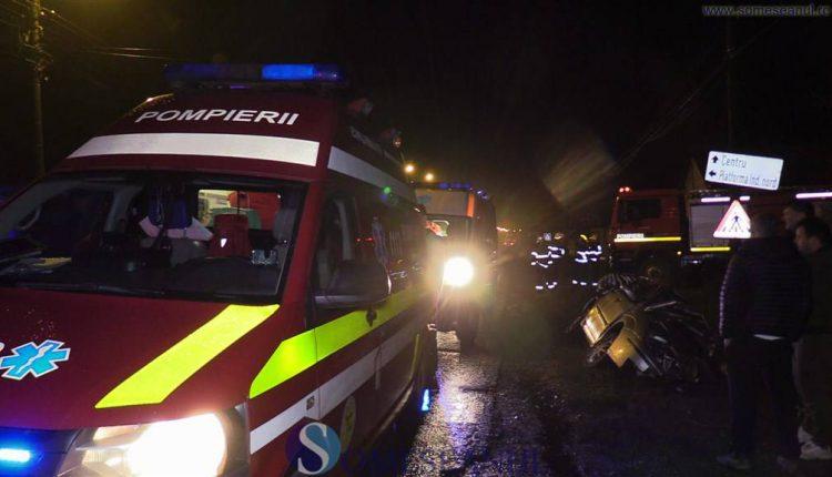 someseanul-accident dej masina in cap de pod (8)