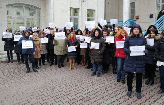 protest itm cluj