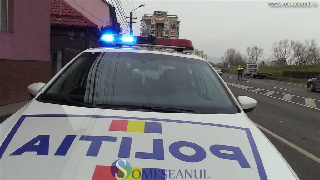 someseanul-politie rutiera actiune dej radar accident