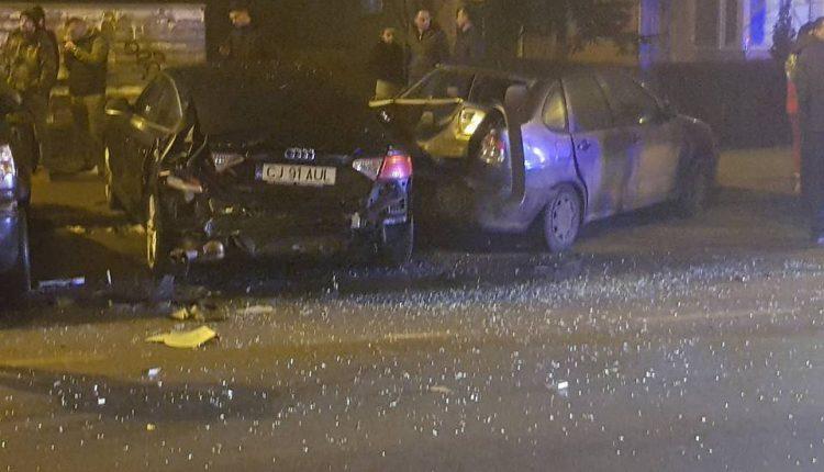 accident 6 masini dorobantilor cluj