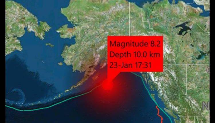 cutremur alaska tsunami