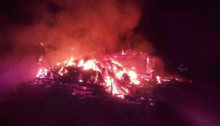 incendiu cabana salva