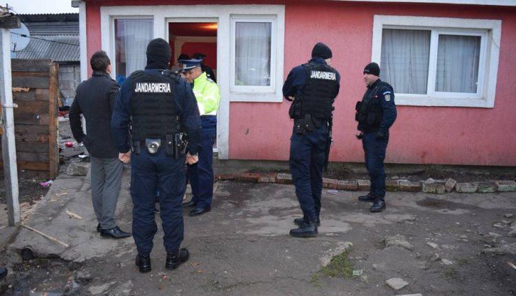 razie perchezitii actiune politia pata rat