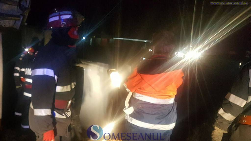 someseanul-accident turda masina rasturnata (1)
