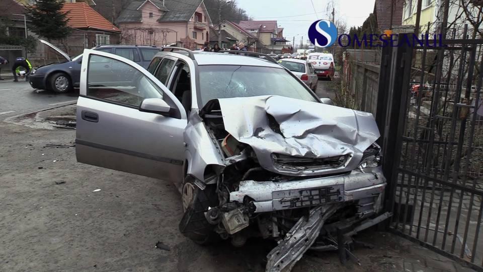 Accident strada Baia Mare Dej