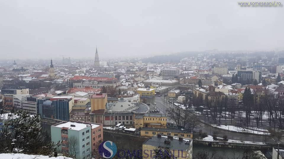 someseanul-cluj meteo ninsori iarna