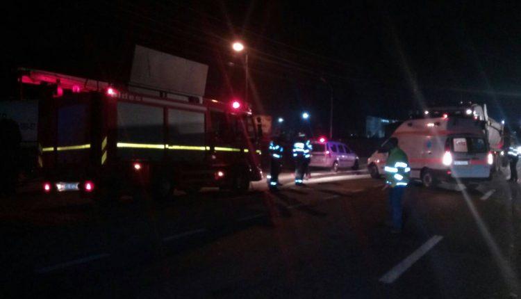 accident autobuz tir bistrita