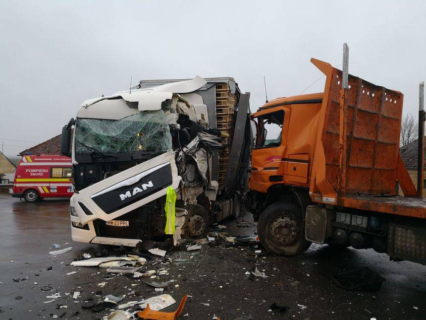 accident camion brasov
