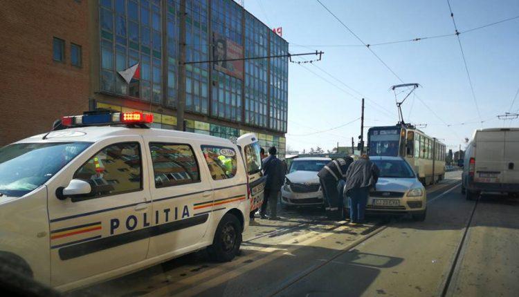 accident linie tramvai cluj muncii