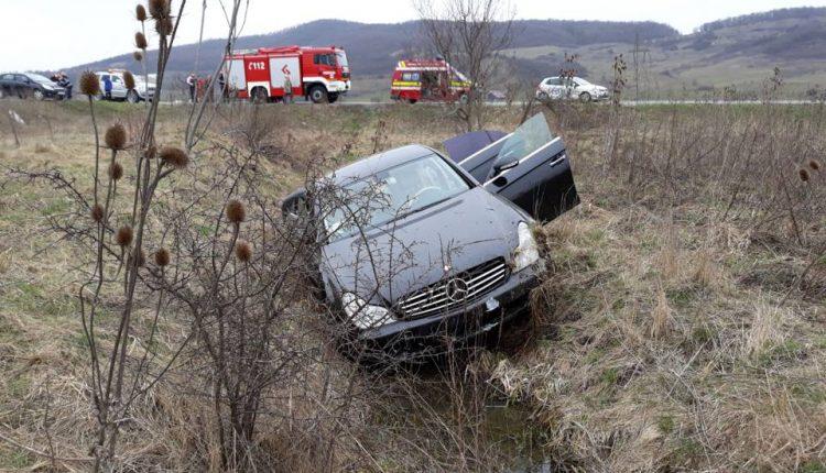 accident sintereag masina in sant