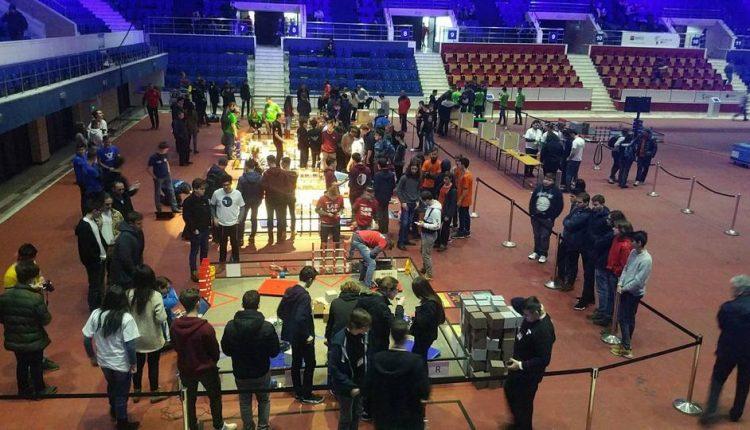concurs robotica team vectron dej
