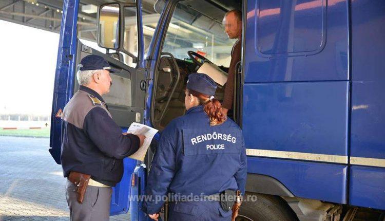 control camioane vama frontiera ungaria