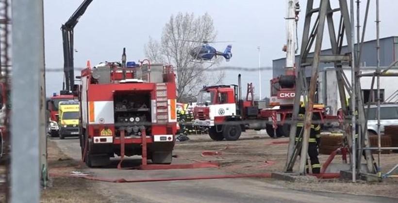 explozie fabrica cehia