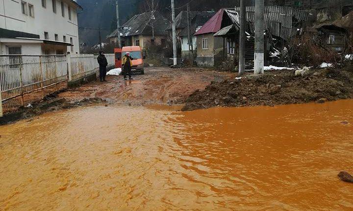 poluare apa de mina raul lapus baiut