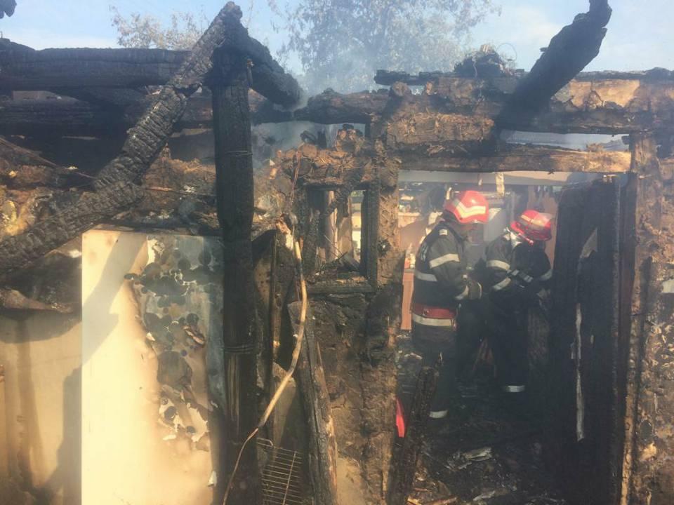 incendiu casa bercea