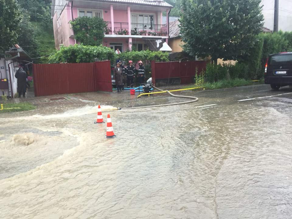 inundatii bistrita