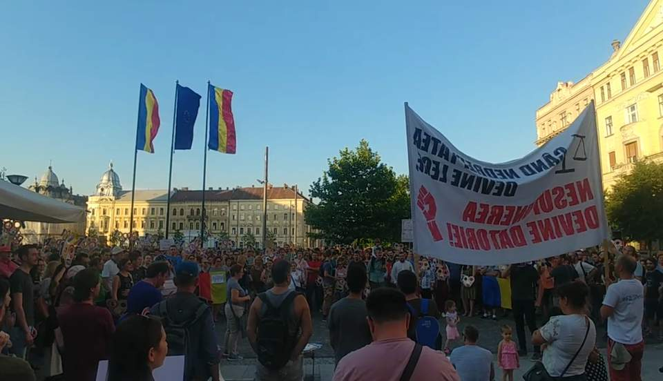 protest justitie cluj