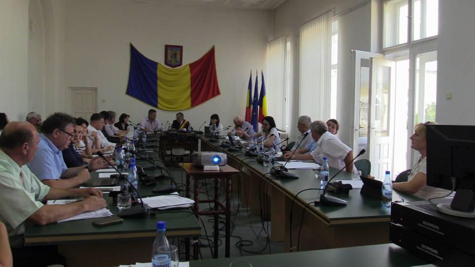 sedinta consiliu local dej mai 2018