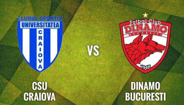 Craiova - Dinamo, in sferturile Cupei! Meciul se joaca pe ...   Dinamo Craiova