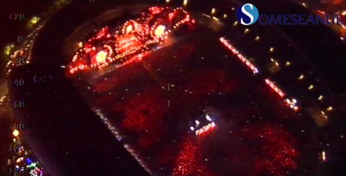 festival untold vazut din elicopter