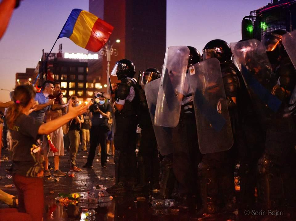 protest diaspora jandarmi