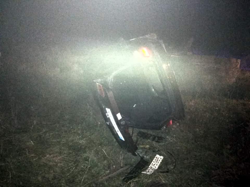 accident masina rasturnata bistrita (1)