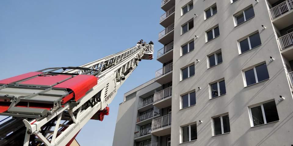 incendiu bloc cluj