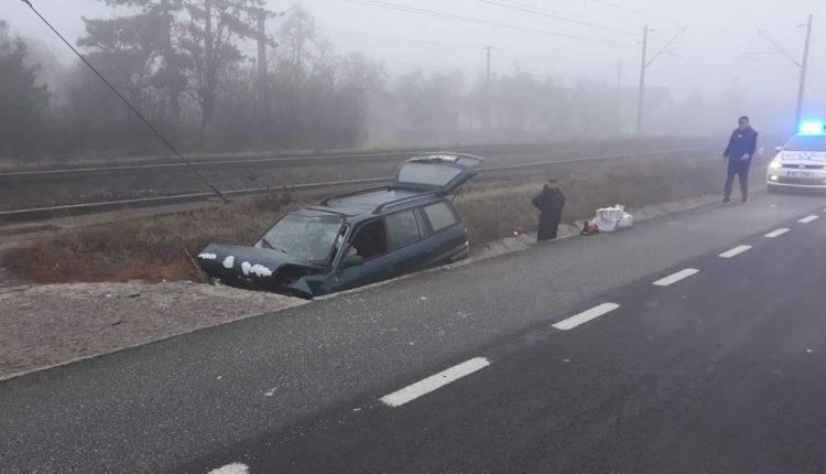 accident masina cap de pod livada