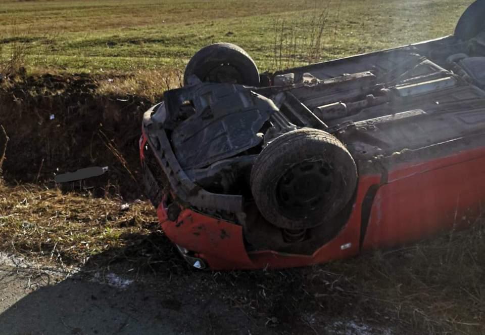 accident masina rasturnata bn (4)