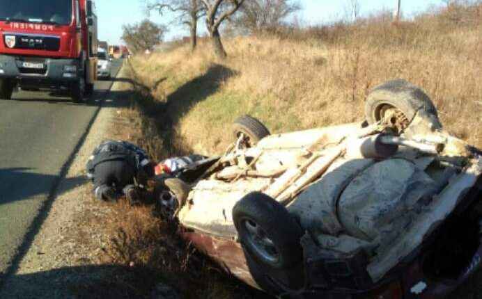 accident masina rasturnata cepari (3)