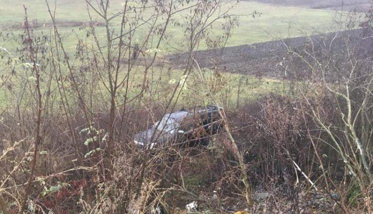 accident masina rasturnata corpadea
