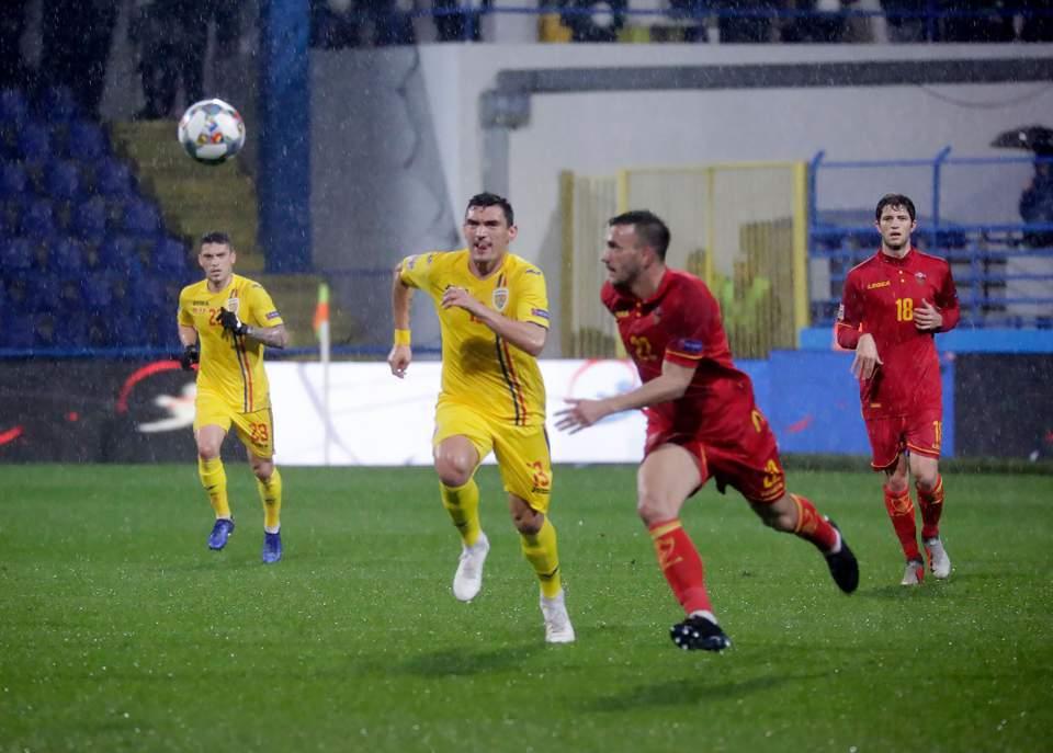 echipa nationala romania muntenegru fotbal