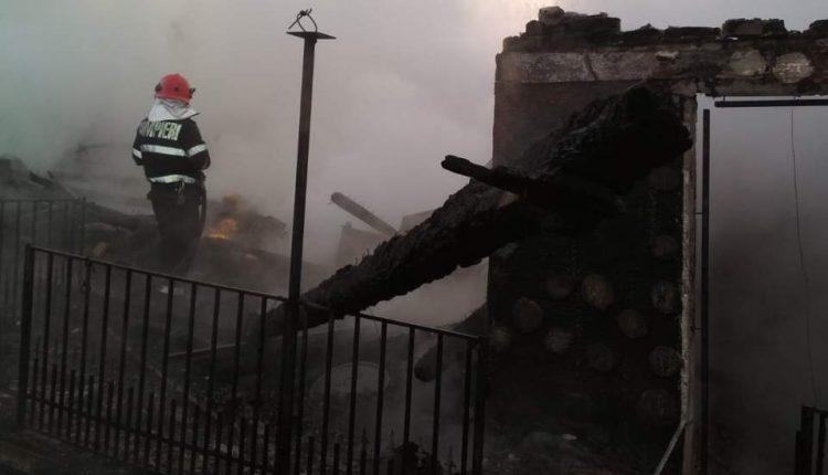 incendiu casa taure