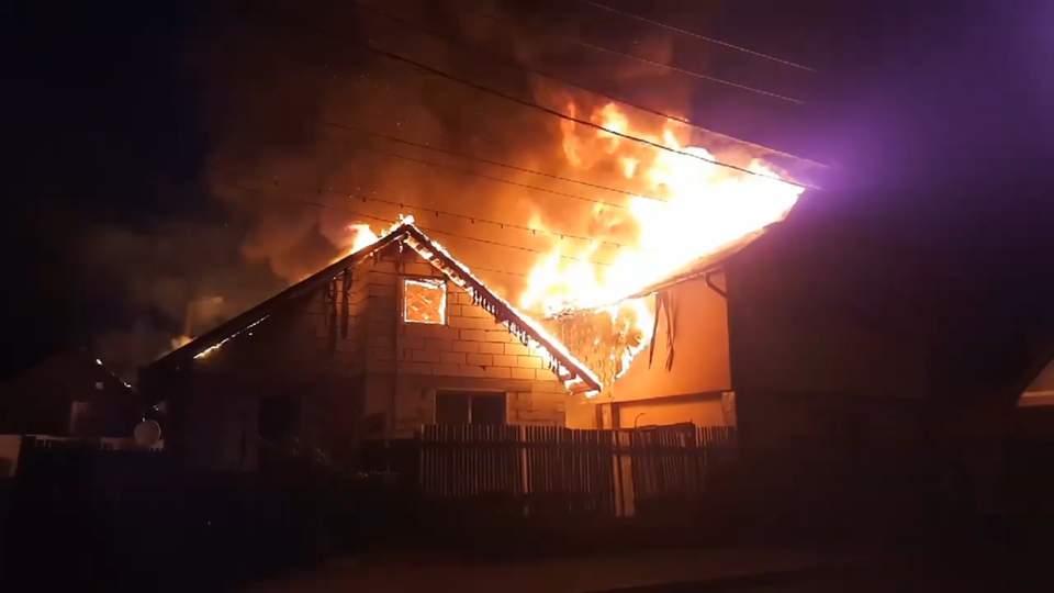 incendiu case baia mare