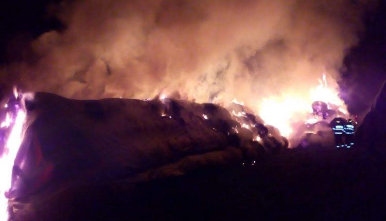 incendiu ferma cluj