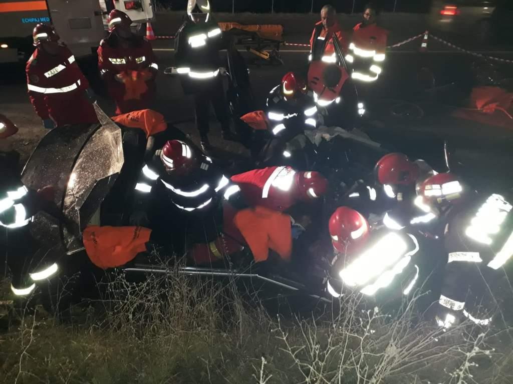 accident mortal descarcerare masina sant resuscitare