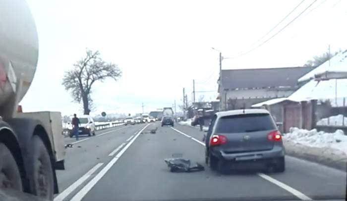 accident centura gherla (