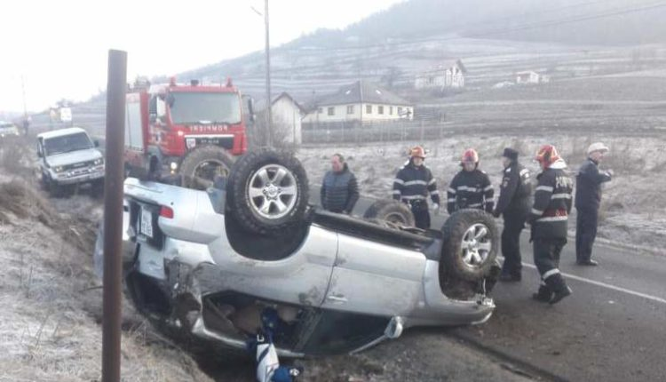 accident masina rasturnata liviu rebreanu