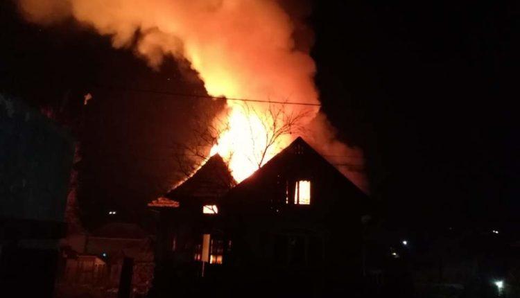 incendiu casa chinteni