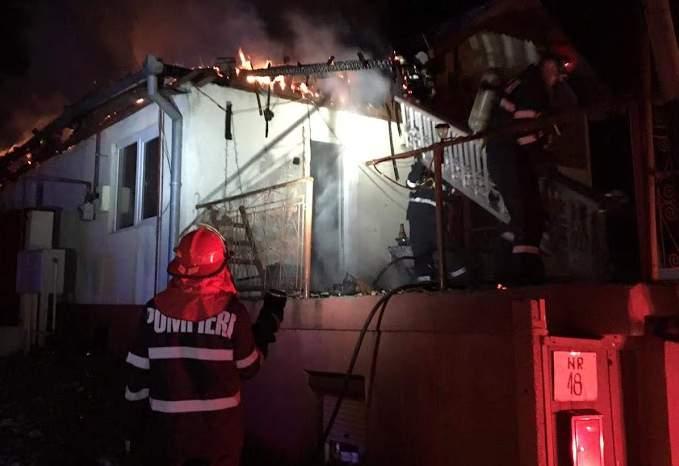 incendiu casa dianei cluj