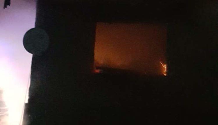 incendiu casa dumbrava