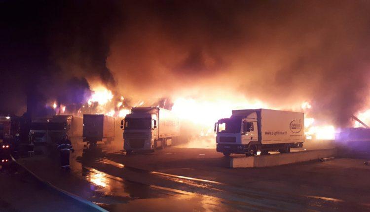 incendiu fabrica alba