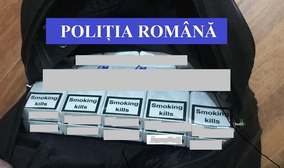 tigari contrabanda politia