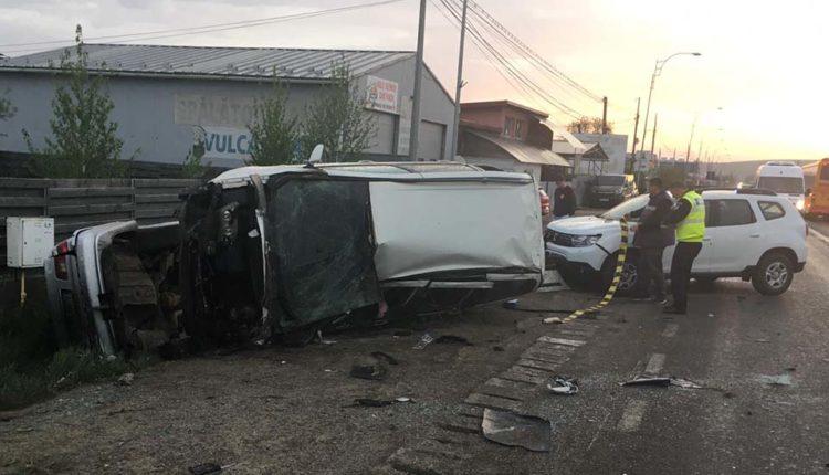 accident 3 masini sannicoara cluj