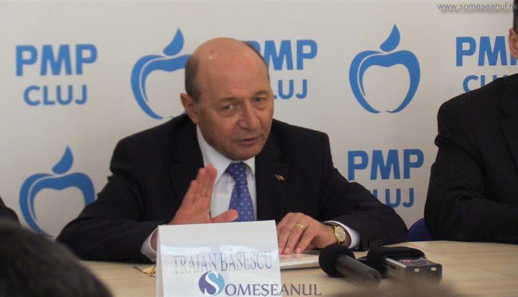 Traian Basescu PMP Cluj
